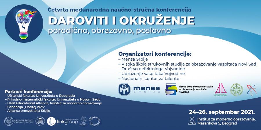 Konferencija o darovitosti 2021 - plakat v1